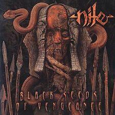 DAMAGED ARTWORK CD Nile: Black Seeds of Vengeance