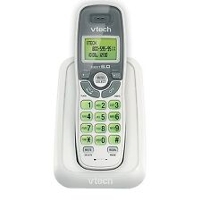 Cordless Vtech Phone DECT 6.0 Caller ID Call Waiting Handset White Wall Mount