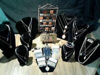45 PIECE SEA-LIFE LOT+GENUINE GEMSTONE NECKLACES+GOLD $100 BANKNOTE & MUCH MORE!
