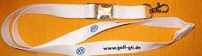 VW Golf GTI Schlüsselband Lanyard NEU (A13)
