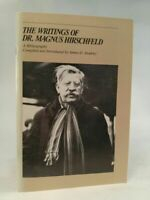 The writings of Dr. Magnus Hirschfeld  -   A Bibliography. Compiled and Introduc