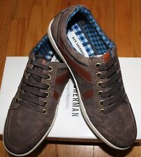 BEN SHERMAN KNOX BROWN SUEDE LACE UP SNEAKER US 8.5/ EU 41.5