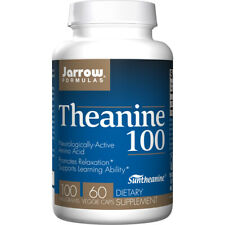 L-THEANINE 100, 100mg X 60 Capsules - Jarrow Formulas Sommeil,Relaxation,Stress