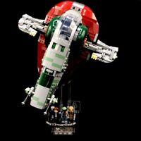 Acryl Display Stand Acrylglas Standfuss für LEGO 75243 Slave I