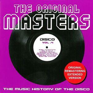 THE ORIGINAL MASTERS DISCO VOL. 4 EXTENDED TRACKS NUOVO NEW MINT COSMIC MECCA DJ