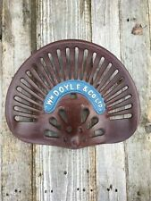 CAST IRON TRACTOR SEAT DOYLE