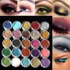 24 Colors Loose GLITTER Powder Eyeshadow Eye shadow Face Body Painting Nail Art