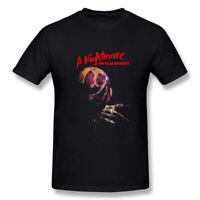 Men's Freddy Krueger A Nightmare On Elm Street T-Shirt Black