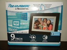 "New Panimage PanDigital 9"" inch LCD Screen Digital Photo Frame Picture Black Mat"
