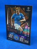 MATCH ATTAX EXTRA 2020/21 LIMITED EDITION KEVIN DE BRUYNE MANCHESTER CITY BRONZE