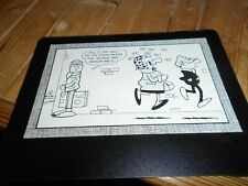 "Andy Capp Comic postcard, Valentine XT.212, ""George and Dragon Inn"""