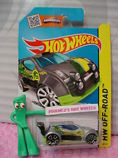 Case C 2015 i Hot Wheels FAST 4WD #76∞Gray-Silver/Green; 68; Trap5∞Off-Road~
