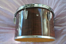 """1970's LUDWIG 13"""" CONCERT TOM IN MAHOGANY CORTEX for DRUM SET! LOT #J581"""