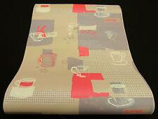 "30089-2) 1 Rolle dicke Vinyltapete ""Faro"" exquisite Küchen-Design Tapete"