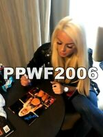 WWE MANDY ROSE HAND SIGNED AUTOGRAPHED 8X10 PHOTO WITH PROOF AND COA 27