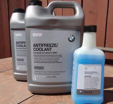 2 Gallon BMW OEM ANTIFREEZE COOLANT 82141467704 W/Free windshield washer