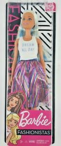 "Barbie Fashionista 120 Doll ""Dream all day"" shirt and dress"
