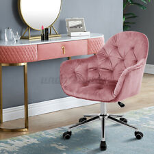 Swivel Home Office Sofa Chair Tufted Upholstered Computer Desk Chair Adjustable