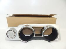New OEM 2005-2009 Ford Mustang Instrument Panel Dash Cluster Bezel Silver