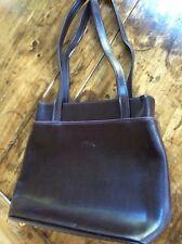 womens handbags and purses/Longchamp Brown Leather Shoulder Bag