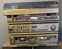 Panasonic SA-H30 Quartz Synthesizer AM/FM Stereo - Cassette Player turntable