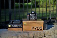 Nikon D700 w/extras 12.1MP Digital SLR Camera No Reserve NR Great Shape