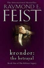 Krondor The Betrayal (the Riftwar Legacy Book 1) by Feist Raymond E Boo