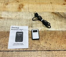 SanDisk Sansa Clip+ 4GB MP3 Player  (please Read All) White
