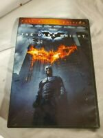The Dark Knight Batman Christian Bale Michael Caine Heath Ledger DVD Ships Free