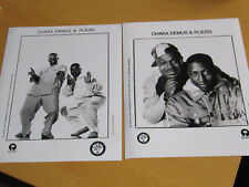 CHAKA DEMUS & PLIERS - 2 x ORIGINAL UK PROMO PRESS PHOTO (A)