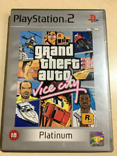 GRAND THEFT AUTO VICE CITY for the Playstation 2