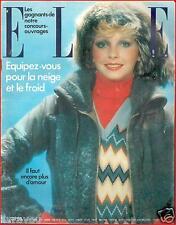▬►Elle 1457 (1973) Mode Fashion Vintage_ELVIS PRESLEY_BEATLES_ROLLING STONES