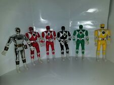 "Power Rangers Auto Morphin Head Flip Lot 5.5"" 1993 Bandai Vintage figure"
