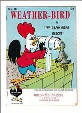 WEATHER-BIRD SHOES GIVEAWAY #10 [1950's? GD+]  TELESCOPE COVER!