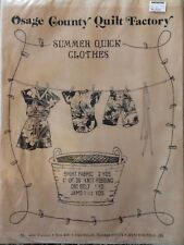 Osage County Quilt Factory Summer Quick Clothes Pattern Jams Shorts Shirt UNCUT
