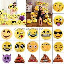Cute Emoji Emoticon Cushion Poo Shape Pillow Doll Toy Throw Pillow Funny Gift