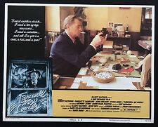 FAREWELL MY LOVELY Robert Mitchum 1975 US Lobby Card Noir Chandler Marlowe 5
