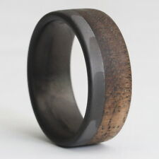 The Craftsman - Filament Carbon Fiber & Walnut Wood Ring
