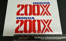 1987 87 HONDA ATC 200X  DECALS GRAPHICS STICKER EMBLEM FITS 86 1986 TOO gas tank