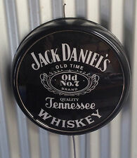 JACK DANIELS ILLUMINATED BUTTON LIGHT 240V PERFECT BAR MAN CAVE HOT ROD