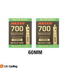 Maxxis Welter Weight 700 x 18 /25C 60mm Bike Presta Valve Inner Tube