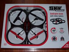 BRAND NEW Sky King Quadcopter Drone 6 Axis 360 degree with Video Camera Remote