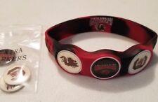 Wrist Skins Golf Ball Marker Bracelet,South Carolina Gamecocks, Magnetic, L M S