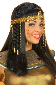 Egyptian Cleopatra Queen of Nile Beaded Snake Headpiece Costume Headband