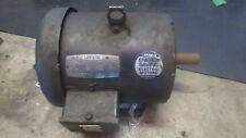 LEESON C182T34FB5A 3HP 3515RPM 3PH ELECTRIC MOTOR