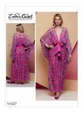 V1627 Vogue Sewing Pattern Misses' Special Occasion Kimono Dress Zandra Rhodes