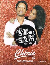 PUBLICITE ADVERTISING 015  2014  CHERIE FM radio  VINCENT CERUTTI