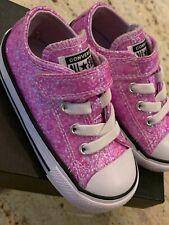 Infant / Toddler Walker CONVERSE Chuck Taylor Shoes - Size 6 - Pink Sparkle