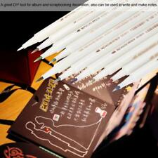 10 Colors Set Paint Marker Pens Metallic Sheen Glitter Calligraphy Arts Album