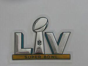AUTHENTIC PLASTIC Super Bowl LV 55 Flex Chrome Patch Sewn On Buccaneers